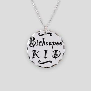 bichonpookid Necklace Circle Charm