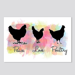 peacelovepoultry Postcards (Package of 8)