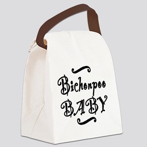 bichonpoobaby Canvas Lunch Bag