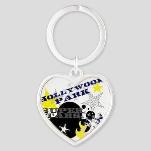 HPE SS Grunge Heart Keychain