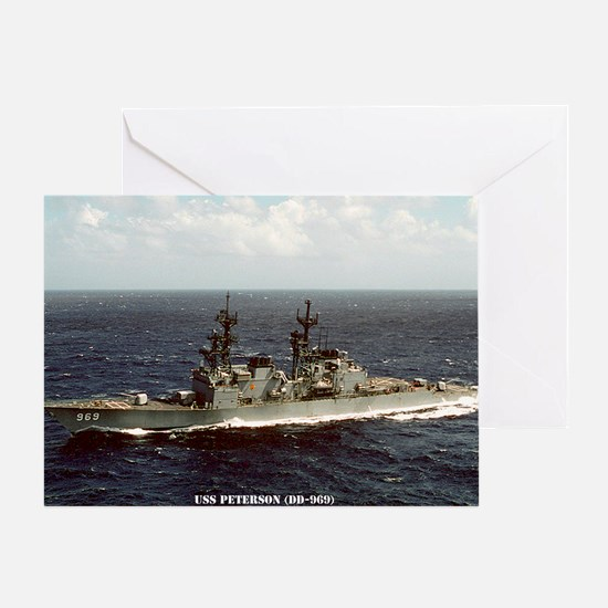 peterson large framed print Greeting Card