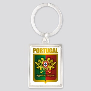 Portuguese Gold Portrait Keychain