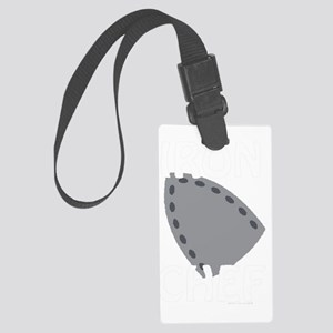 IronChefonBLK Large Luggage Tag