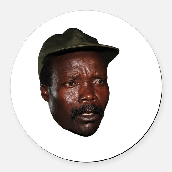 Kony 2012 Obituary Round Car Magnet