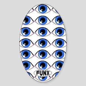EyesKINDLE Sticker (Oval)