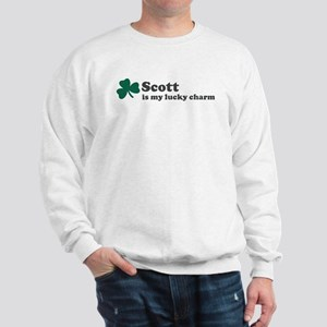 Scott is my lucky charm Sweatshirt