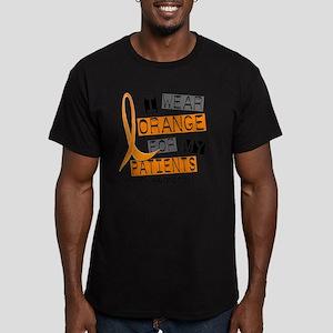D PATIENTS Men's Fitted T-Shirt (dark)