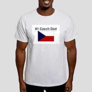 #1 Czech Dad Light T-Shirt