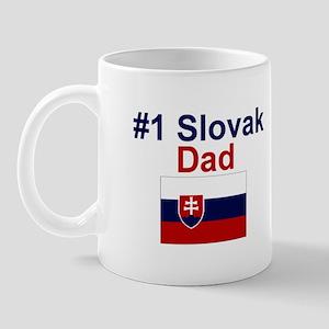 #1 Slovak Dad Mug