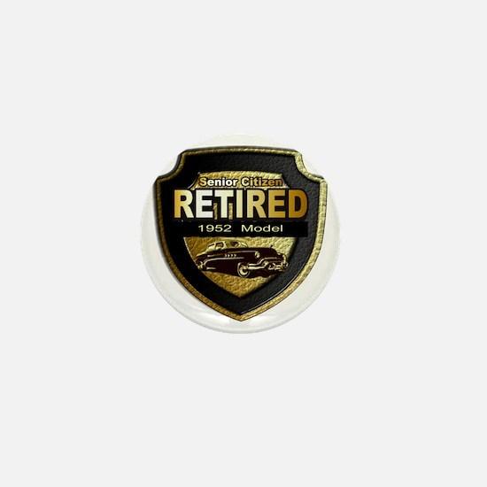 1952 Retired Model 12x12 Mini Button