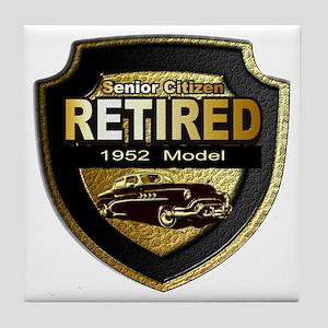 1952 Retired Model 12x12 Tile Coaster