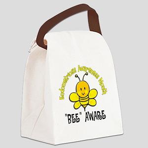 D Endometriosis Awareness Month B Canvas Lunch Bag