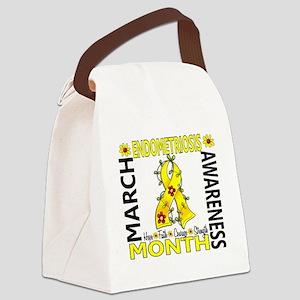D Endometriosis Awareness Month F Canvas Lunch Bag