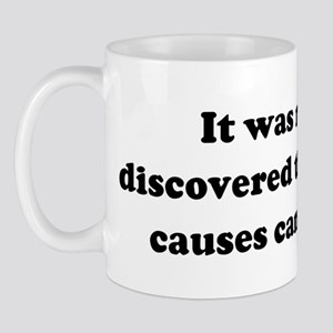 It was recently discovered th Mug