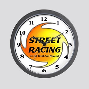 Street Racing Wall Clock