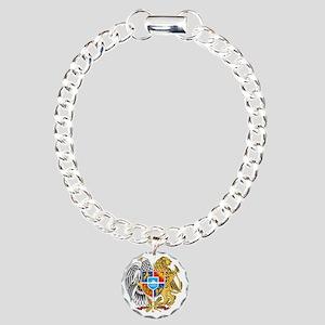armenia_coa_n16 Charm Bracelet, One Charm