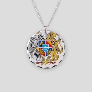 armenia_coa_n16 Necklace Circle Charm