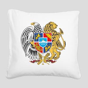 armenia_coa_n16 Square Canvas Pillow