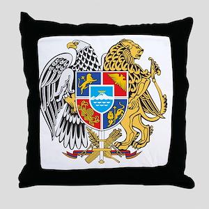 armenia_coa_n16 Throw Pillow