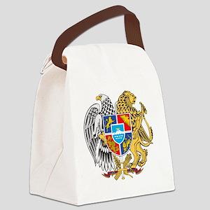 armenia_coa_n16 Canvas Lunch Bag