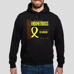 D Endometriosis Awareness Month I2 6 Hoodie (dark)