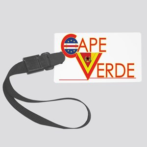 Cape Verde CV Large Luggage Tag