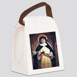 St Catherine of Siena Canvas Lunch Bag