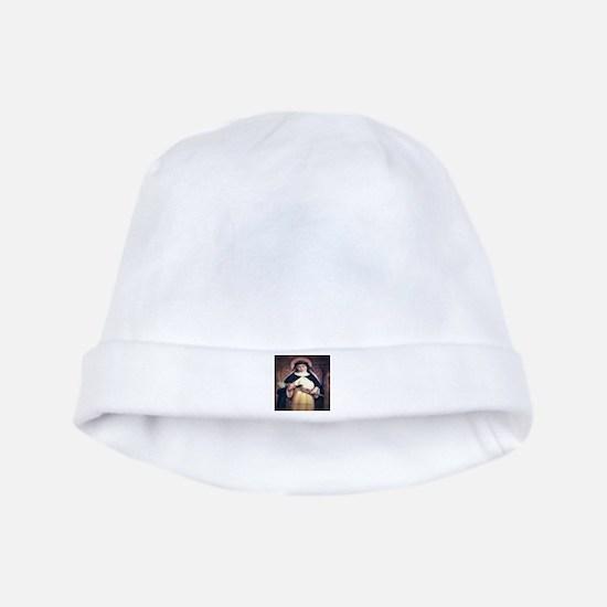 St Catherine of Siena baby hat
