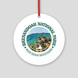 Shenandoah National Park Round Ornament