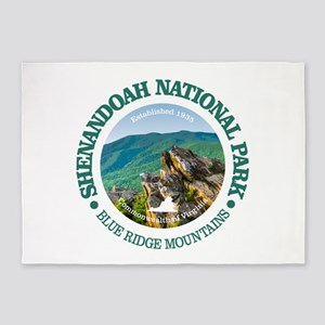 Shenandoah National Park 5'x7'Area Rug