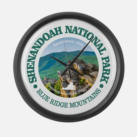 Shenandoah National Park Large Wall Clock
