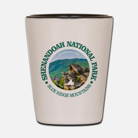 Shenandoah National Park Shot Glass