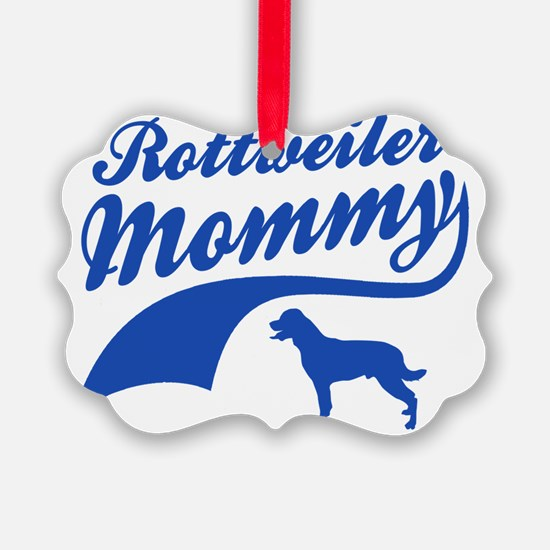 rottweiler-mommy Ornament