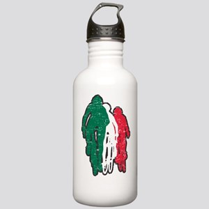 bike mexico dark Stainless Water Bottle 1.0L
