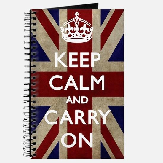large_KEEP_CALM_UNION_JACK Journal