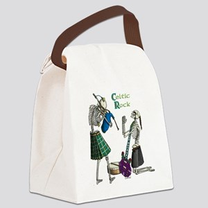 Rockers white Canvas Lunch Bag