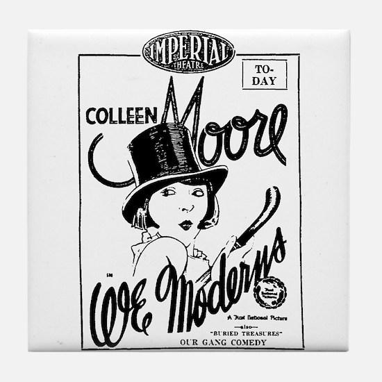 Colleen Moore WE MODERNS Tile Coaster