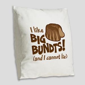 I like BIG BUNDTS Burlap Throw Pillow