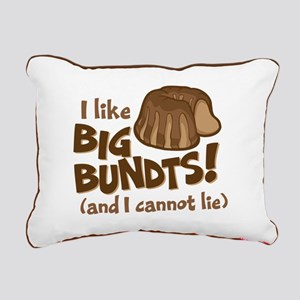 I like BIG BUNDTS Rectangular Canvas Pillow