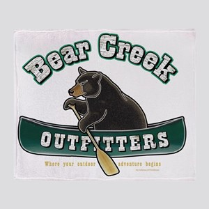 Bear Creek Outfitters Throw Blanket