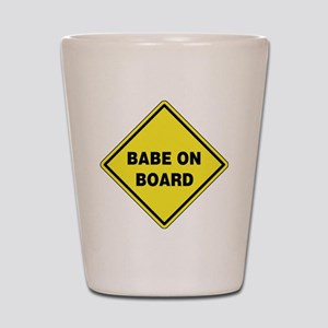 Babe On Board Shot Glass