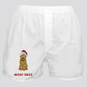 Goldendoodle Christmas Boxer Shorts