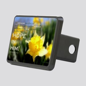 4x6 - Daffy Delight: HO Rectangular Hitch Cover