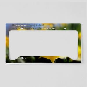 4x6 - Daffy Delight: HOPE  License Plate Holder