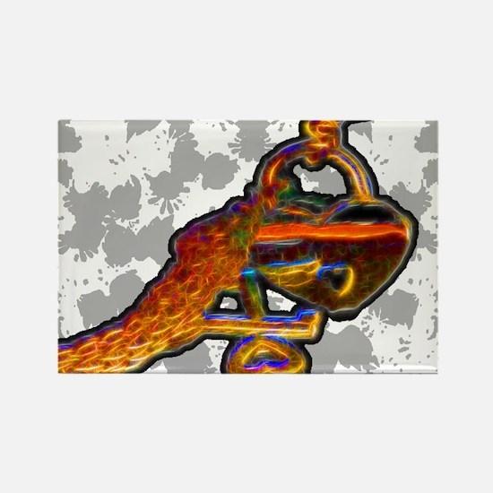 collar-puz Rectangle Magnet