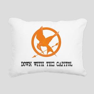 capitol copy Rectangular Canvas Pillow
