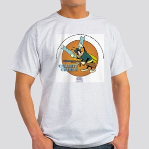 Calamity Charlie Ash Grey T-Shirt