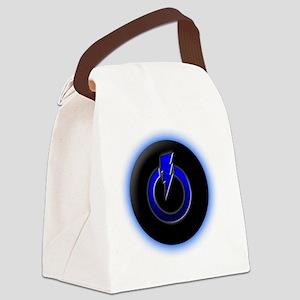 Lightning Power Canvas Lunch Bag