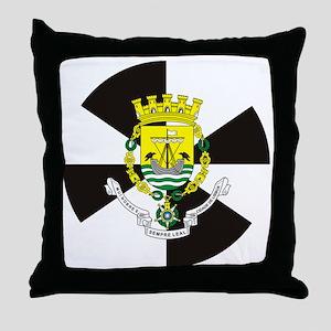 Lisbon (Necklace rd) Throw Pillow