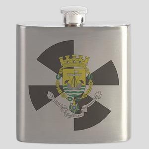 Lisbon (Necklace rd) Flask